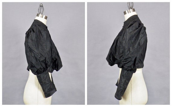 1890s Blouse with Dramatic Leg of Mutton Sleeves,… - image 3