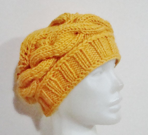 Mustard Yellow Hat Womens gift for woman unique gift hand  3bc66783108