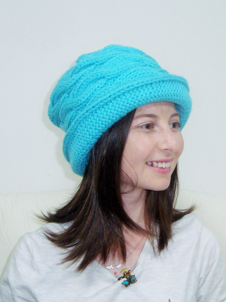 ac08be284d8 Womens Hats Winter Trendy With Brim Knit Woman Hats