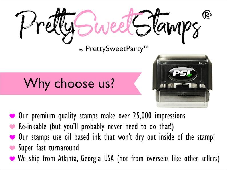 Return Address Stamp Self Inking Stamp Housewarming Gift Custom Address Stamp From the Family Self Ink Return Address Stamp FRM2770