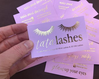 Rose gold foil business cards perfect for makeup artist blush pink business cards with gold foil accents custom business cards for lash artist nail artist hair stylist makeup artist more colourmoves