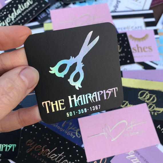 image 0 - Holographic Business Cards