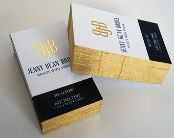 32pt silk business cards with gold foil and painted edges 500 32pt silk business cards with gold foil and metallic gold edges reheart Images