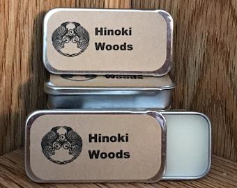 Hinoki Woods Solid Perfume Balm