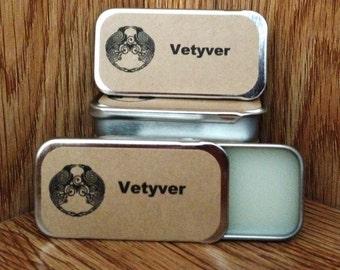 Vetyver (Type) Solid Perfume Balm