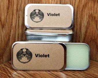 Violet Solid Perfume Balm