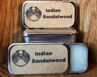 Indian Sandalwood Solid Perfume Balm