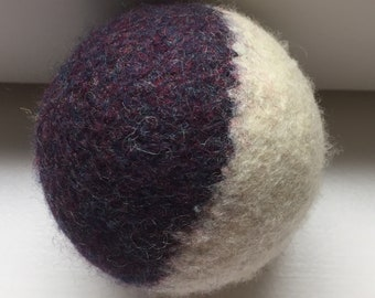 Orphaned Felted Wool Dryer Balls