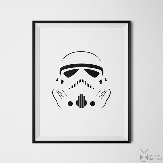 picture relating to Stormtrooper Mask Printable known as Star Wars Minimalist Poster Stormtrooper Artwork Star Wars Electronic Down load Printable Nerd Decor Stormtrooper Helmet Star Wars Print Neat Print