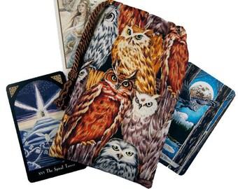 Athena's Owls Tarot Bag