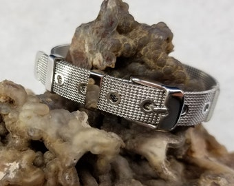 Stainless Steel Buckle Bracelet Magical Fire
