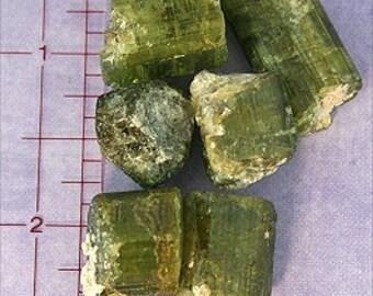 Green Tourmaline Crystal Magical Fire