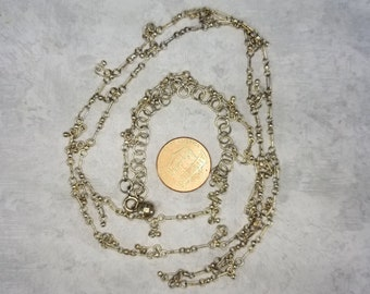 Sterling Silver Bellychain or Long Necklace Magical Fire