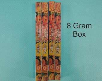 8 Gram Satya Valley of the Roses Incense Magical Fire