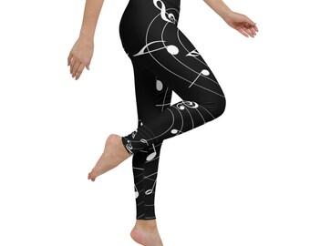 Harmony Yoga Leggings in Black