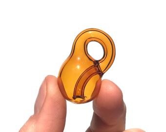 Amber Glass Klein Bottle