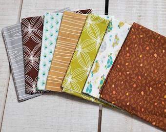 Les Amis fabric bundle - fat eighth - OOP - 214