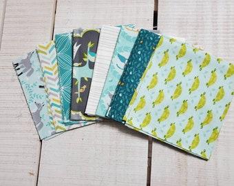 Les Amis fabric bundle - fat eighth - OOP - 215