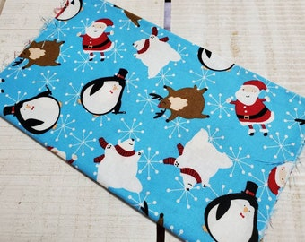Christmas fabric - winter animals 209