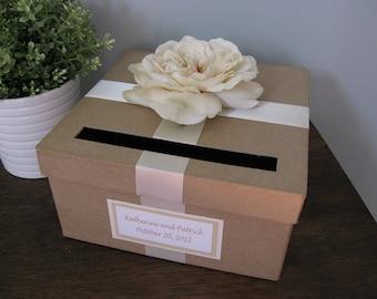 Diy Wedding Card Box Wedding Card Holder Gift Card Holder Etsy
