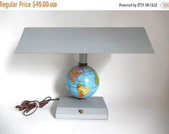 World Globe Lamp Etsy