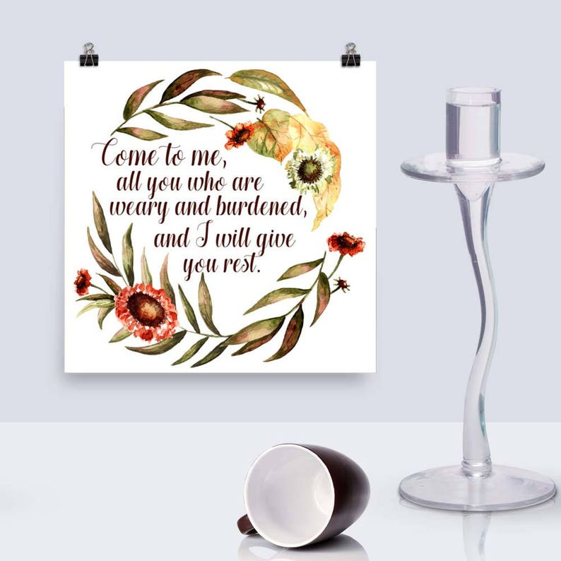 Download Print Come to Me Printable Art Gift for image 0