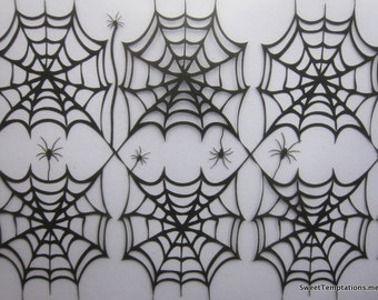 Spiderwebs Chocolate Tranfers Sheets