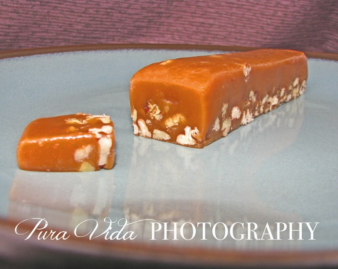 Pecan Caramels - Great for WEDDING, ENGAGEMENT, BRIDAL, Baby Shower, Party Favors