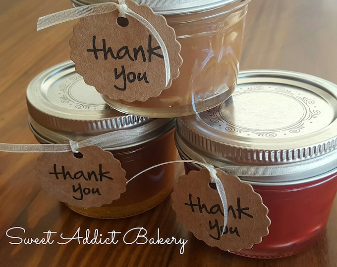 Caramel Sauces FAVORS - You Choose Flavor(s) - Great as a meat glaze, ice cream, dipping or just eating out of the jar