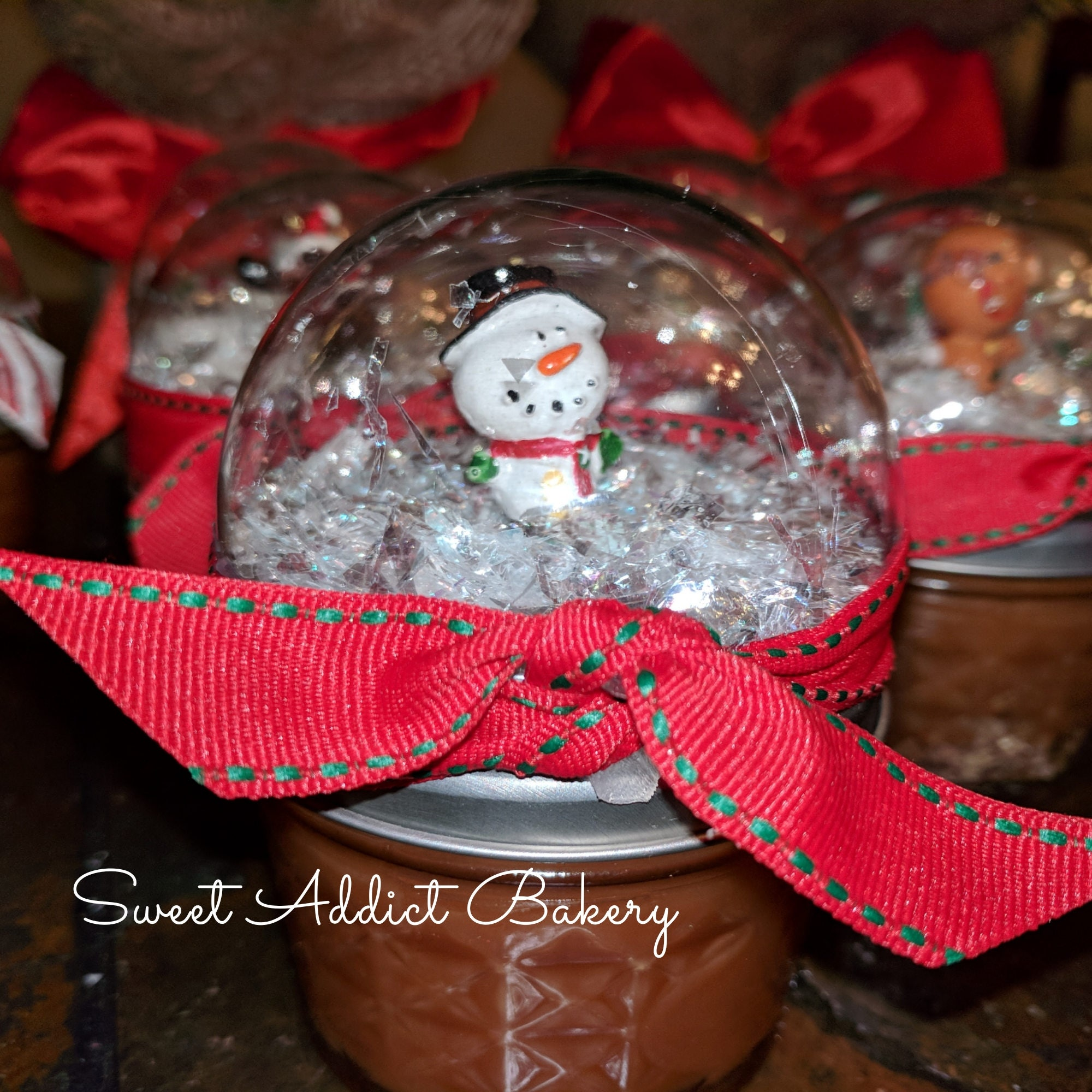 SNOWGLOBE CARAMEL SAUCE jars - make great gifts for teachers ...
