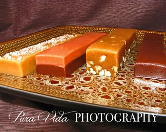 Assorted Caramels - You Choose Flavors - Cut Your Own - ONE POUND - Great gift idea for birthdays, Mother's Day, Father's Day, Graduation