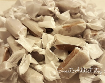 BULK Individually Wrapped Salted Caramels - Great for WEDDING, ENGAGEMENT, Bridal, Baby Showers, Corporate Events, Birthdays, Party Favors