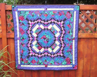 Rainforest Quilted Wallhanging