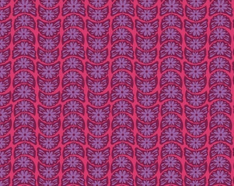 Anna Maria Horner Fabric True Colors Crescent Bloom Ruby