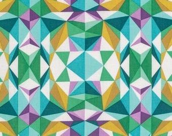 Joel Dewberry Fabric Modernist Prismatic Emerald FreeSpirit