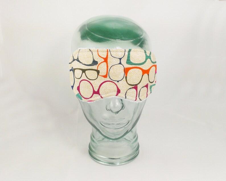 Glasses Sleep Mask mens eye mask optometry gift optometrist sleeping mask quick shipping adult sleep mask eye cover sleep blindfold woman