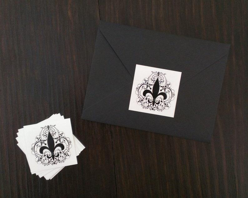 Fleur De Lis Letter Writing Set louisiana gift personalized stationary set new orleans saints thank you cards set mardi gras stationery nola
