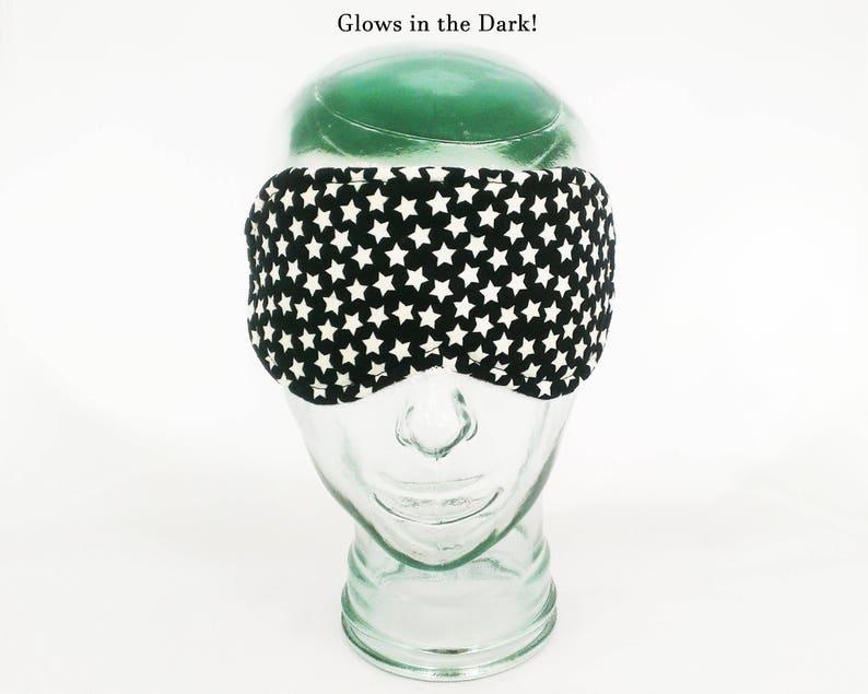 Glow in the Dark Sleep Mask stars blindfold constellation eye mask astrology sleeping mask