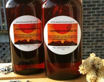 Massage, Bath, Body OIl 4 ounce Bottle