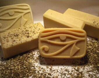 Patchouli Goats Milk Soap One Bar 5 ounces