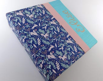 Photo Album Girl Baby Book FairyTale Magical Baby Memory Book 4x6 5x7 8x10 Picture Scrapbook Unicorn Rabbit