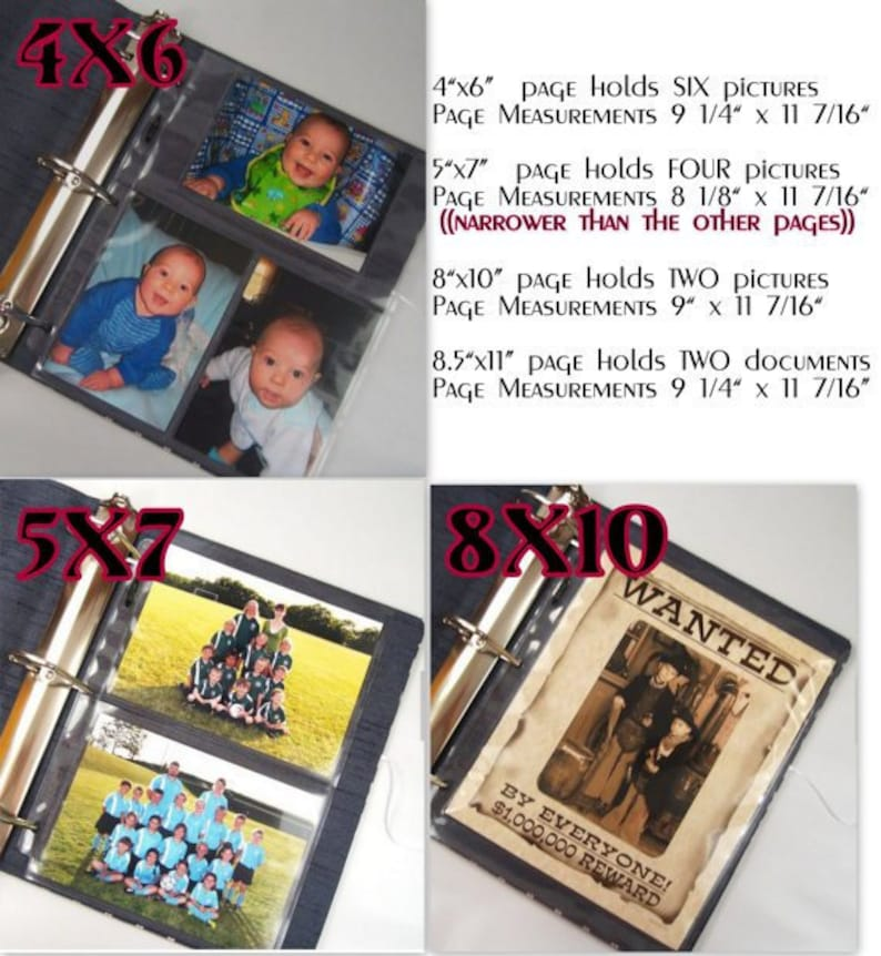 Photo Album Baby Boy Baby Memory Book Personalized Scrapbook Shower Gift 4x6 5x7 8x10 Picture Pregnancy Journal Red Orange Yellow Flames