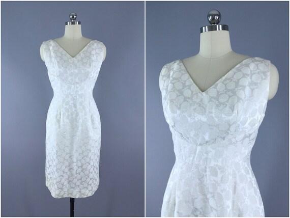 Vintage 1960s Dress / 60s Cocktail Dress / 1960 Da