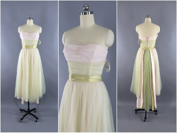 Vintage Dress, Formal Party, Courthouse Wedding Br