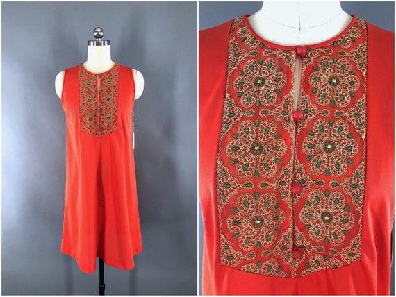 Vintage Nightgown, Nightie Loungewear Lingerie, Br