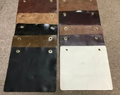 Package of 10 Leather Cowhide Swatches, DD1163