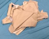 Tan Lambskin Leather Hides UL22