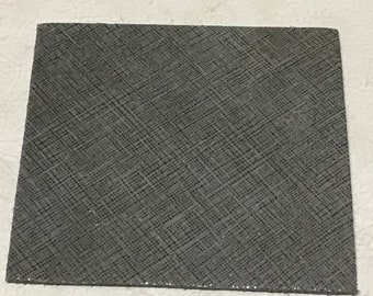 Shimmering Suede Excalibur Gray Printed Leather Cowhide TOWN442