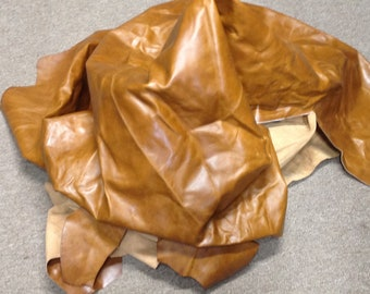 BR453.  Supreme Caramel Leather Cowhide