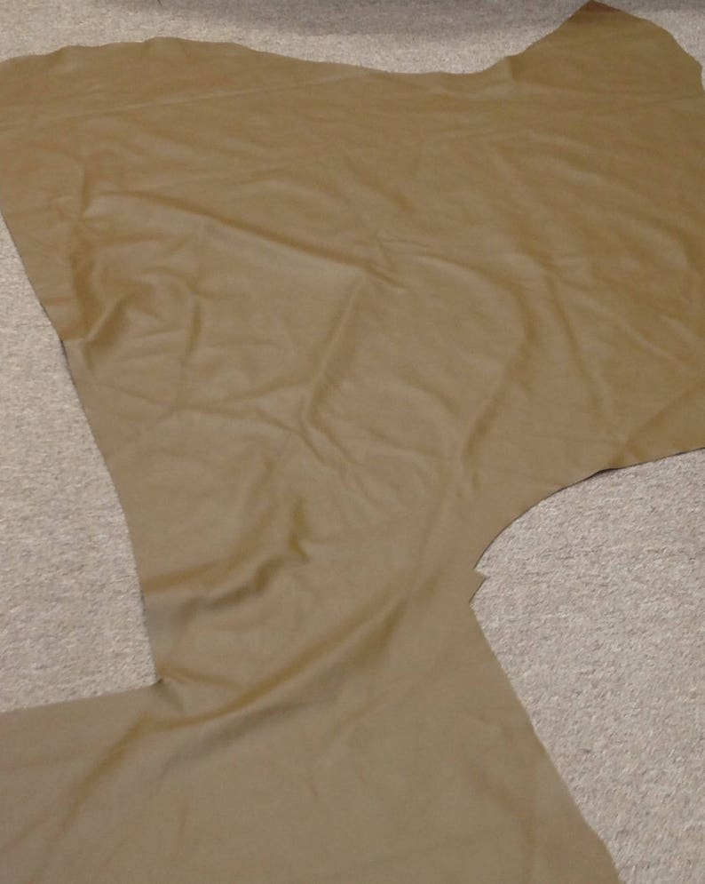 PeanutButter Leather Cowhide Partial AB429 image 0